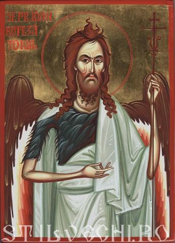 Sfantul Ioan Inaintemergatorul si Botezatorul Domnului
